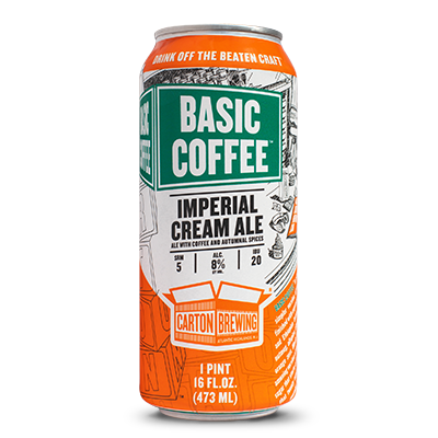 Image result for carton basic coffee imperial cream