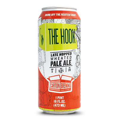 Image result for carton the hook pale ale